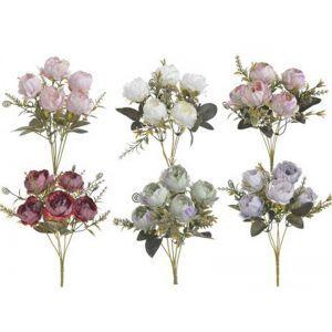 Buchet 5 fire trandafiri color