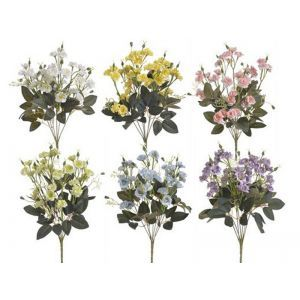 Buchet 7 flori+verdeata