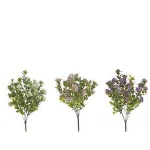 Buchet verdeata+floricele color