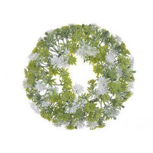 Coronita verdeta+floricele color