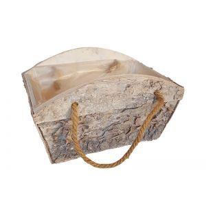 Ladita lemn + maner sfoara