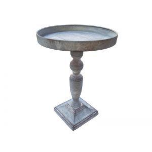 Platou metalic gri 25x36 cm