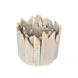 Set 2 cos rotund lemn