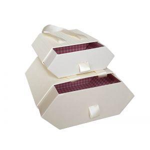 Set 2 cutii tip sertar color