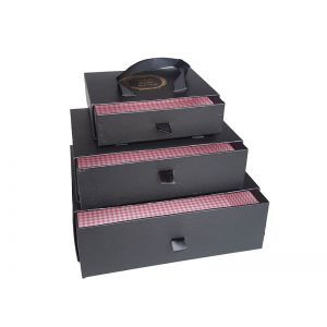 Set 3 cutii decorative tip sertar