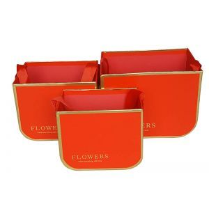 Set 3 cutii tip poseta dreptunghiulara