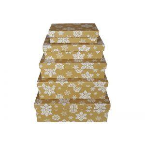 Set 5 cutii dreptunghiulare