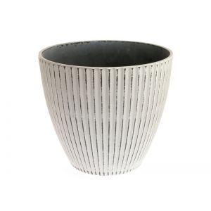 Vas plastic rotund